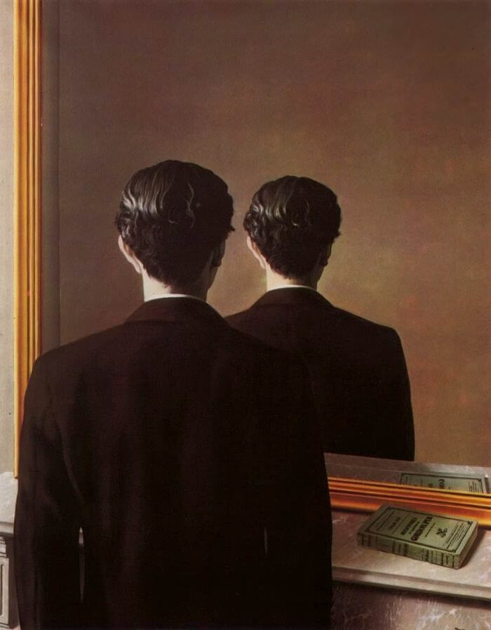 Not to Be Reproduced, 1937 by Rene Magritte