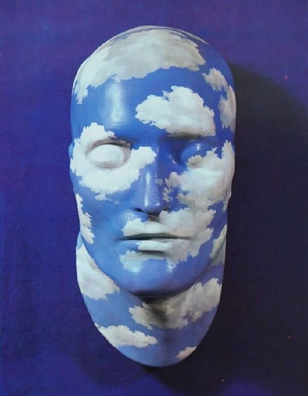 Painted Plaster Mask, 1935 by Rene Magritte