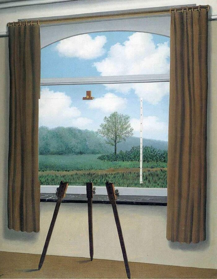 The Human Condition, 1933 by Rene Magritte