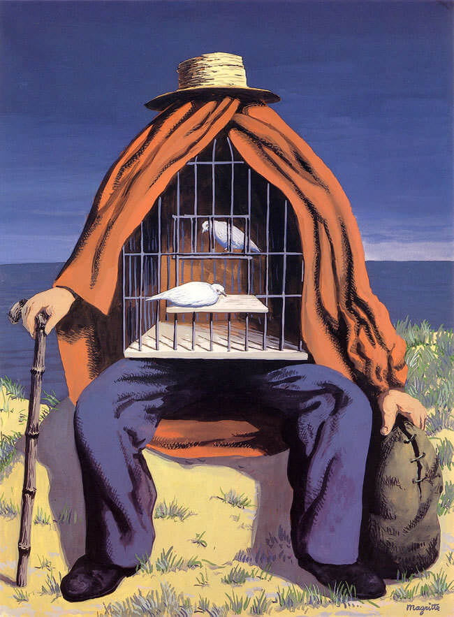 The Therapist, 1937 by Rene Magritte