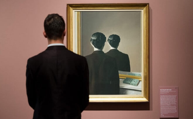 Photo of Not to Be Reproduced by Rene Magritte